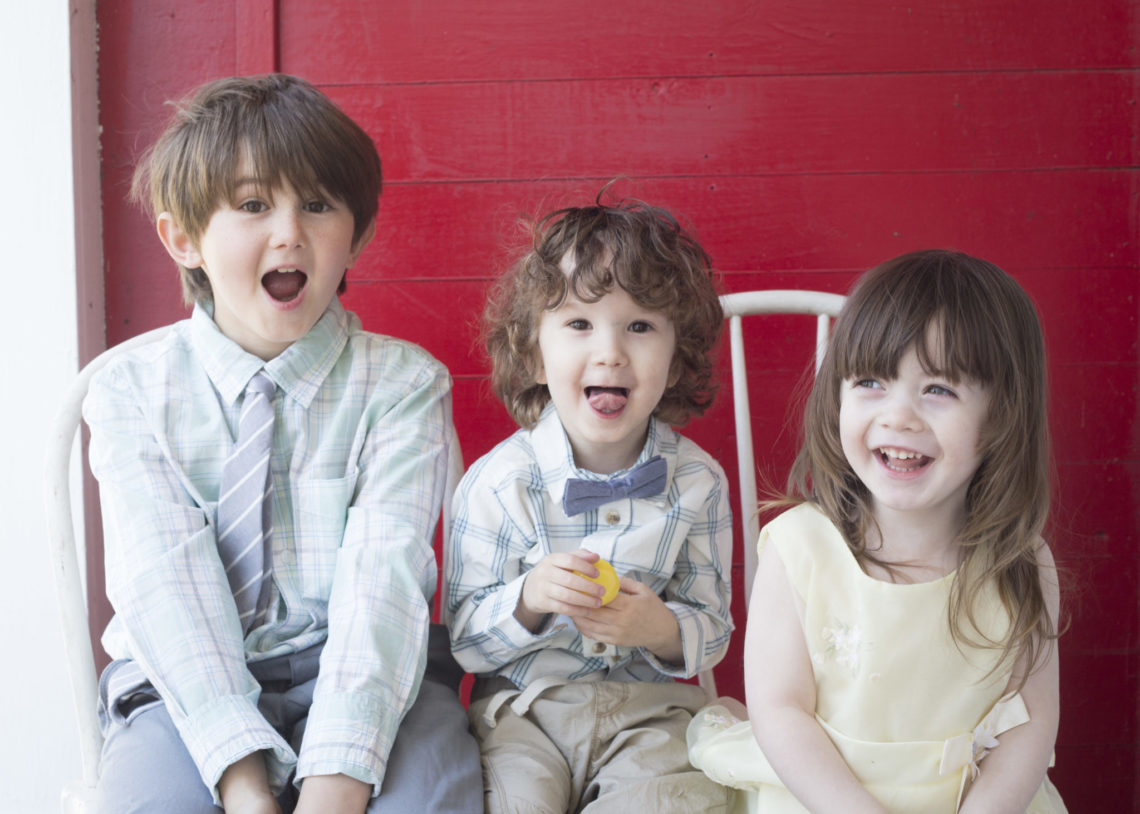 Crazy kids - Photo by Erica Bickel | Little Red Farmstead