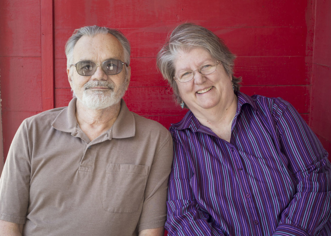 My parents - Photo by Erica Bickel | Little Red Farmstead