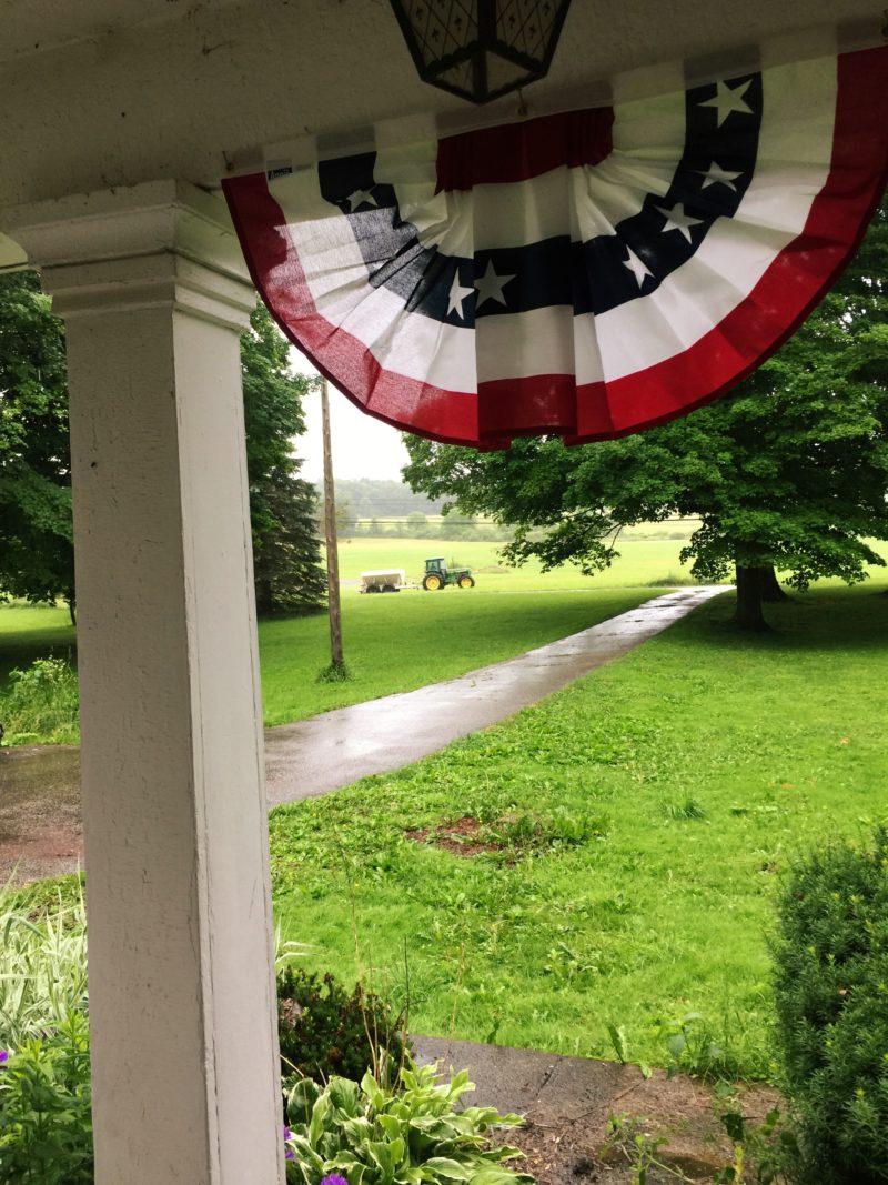 Rain   Little Red Farmstead